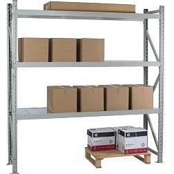 Metallihylly kevytorsilla keskiraskas 350-600 kg/taso