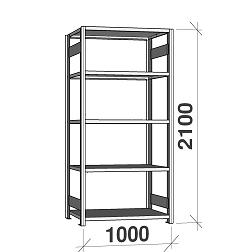 Varastohyllyt sarja 2100Hx1000L