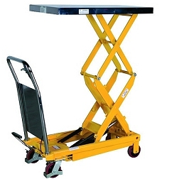 Portable lifting tables