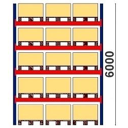 Kuormalavahylly H=6000 BASIC