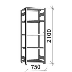 Varastohyllyt sarja 2100Hx750L