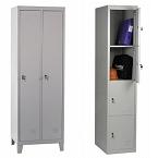 Knocked Down  Lockers