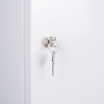 Siivouskaappi 1:lla ovella 1900x400x415 RAL 7035