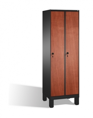 Vaatekaappi 2:lla ovella 1850x610x500, MDF-ovet