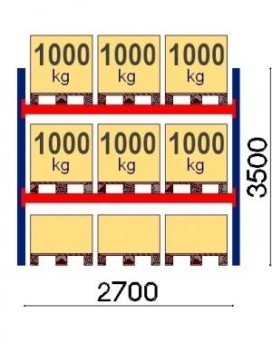 Lavahylly perusosa 3500x2700 1000kg/lava,9 EUR lavaa OPTIMA