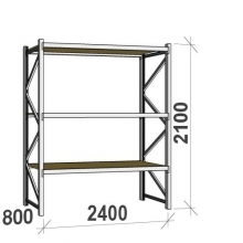 Starter bay 2100x2400x800 300kg/level,3 levels with chipboard