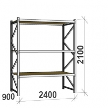 Starter bay 2100x2400x900 300kg/level,3 levels with chipboard