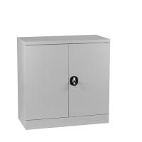 Half-Height Cupboard,2 shelves 900x900x450 grey
