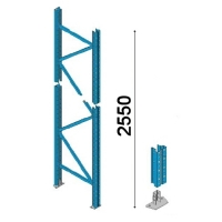 Kuormalavahyllyn pylväselementti 2550x1050 mm