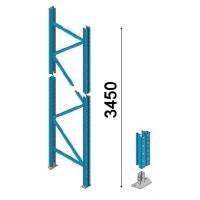 Kuormalavahyllyn pylväselementti 3450x1050 mm