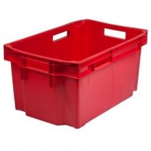 Muovilaatikko 600x400x300mm, punainen
