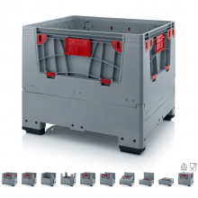 COLLAPSIBLE BIG BOX WITH 4 OPENING FLAPS KLK