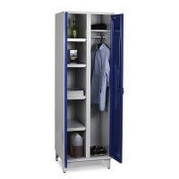 Storage Cabinet with 4 shelves and hanging rod 1900x600x545