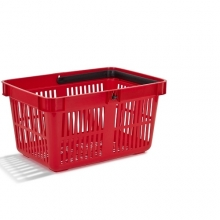 Basket, red