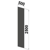 Väliseinä 2500x500