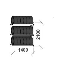 Add On Bay 2100x1400x500, 3 levels