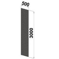 Reikälevypääty 3000x500