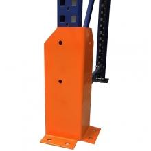 Etupylvään suojus H 400mm, L-muotoinen