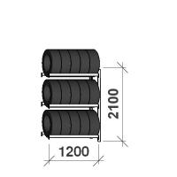 Add On Bay 2100x1200x500, 3 levels