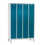 4 door locker with legs 1850x1190x500