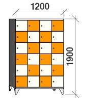 Lokerokaappi 24:lla ovella 1900x1200x545