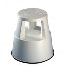 Plastic kickstool, light gray, Wedo