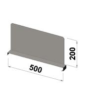 Välijakaja 500x200 mm
