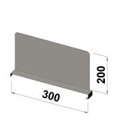 Välijakaja 300x200 mm