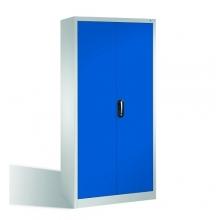 Workshop cabinet 4 shelves 1980x1000x420 RAL 7035/5010