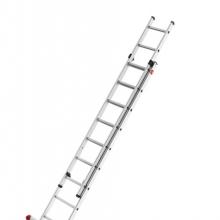 Kaksiosaiset jatkotikkaat Prof 5,15m, 2x9 askelmaa