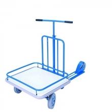 Platform scooter, blue 690x585mm, 150kg