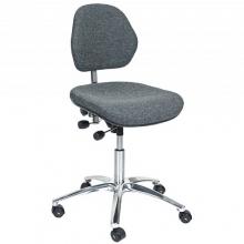 ESD Työtuoli Office kangasverhoilulla, korkeus 500-630 mm
