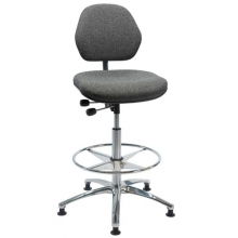 Chair Office ESD high with footring