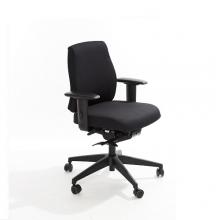 Toimistotuoli Office Lux 430 kangasverhoilulla, korkeus 470-610 mm