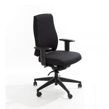 Toimistotuoli Office Lux 530 kangasverhoilulla, korkeus 470-610 mm