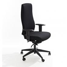 Toimistotuoli Office Lux 645 kangasverhoilulla, korkeus 470-610 mm