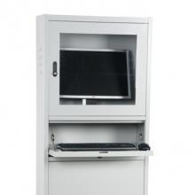 Tietokonekaappi 1730x280x640 mm harmaa