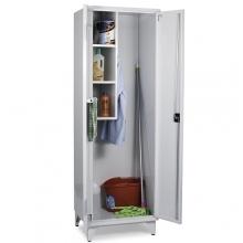Siivouskaappi 2:lla ovella 1900x800x545 RAL 7035