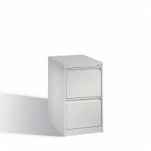 C2000 Acurado filing cabinet, 2 drawers, 733x433x590mm, RAL7035