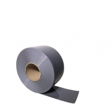 PVC curtain gray 2x200mm/meter