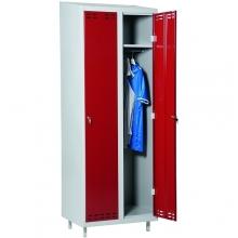 Red/Grey, locker 2door 1920x700x550