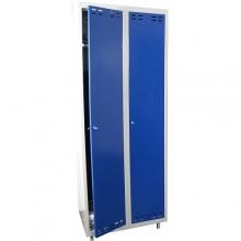 Pukukaappi 2:lla ovella 1920x700x550 sininen/harmaa