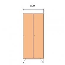 Koulukaappi 1590x800x545