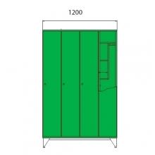 Koulukaappi 1590x1200x545
