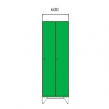 Koulukaappi 1590x600x545