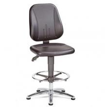 ESD Työtuoli Office keinonahkaa, korkeus 550-800 mm