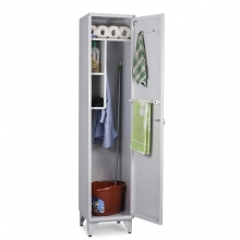 Siivouskaappi 1:lla ovella 1900x400x535 RAL 7035