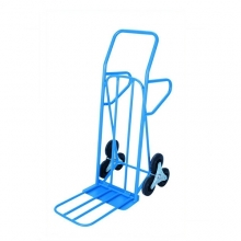 Step trolley with toe plate, 550x1250mm, 200kg