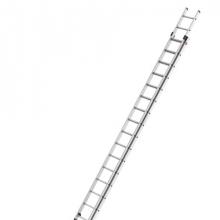Kaksiosaiset jatkotikkaat Prof 9,50m, 2x18 askelmaa