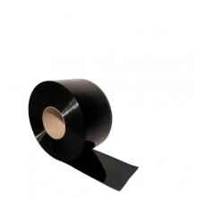 Muovilamelliverho musta 2x300mm/metri